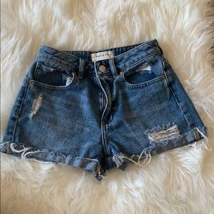 mom shorts from pacsun